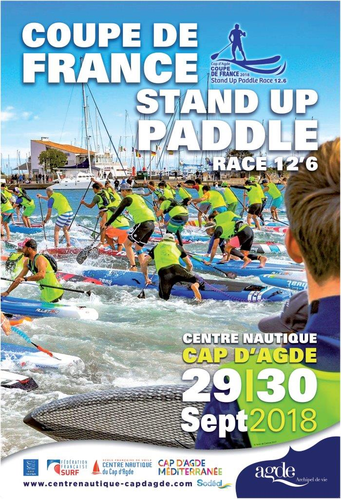 COUPE DE FRANCE STAND UP PADDLE RACE 12'6